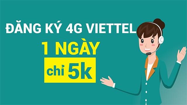 Bật mí cách đăng ký mạng Viettel 1 ngày 5k chi tiết nhất 2021