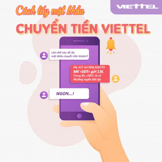 Hướng dẫn cách lấy mật khẩu chuyển tiền Viettel qua tin nhắn nhanh nhất