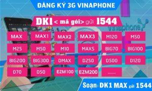 Cách đăng ký mạng Vinaphone 3G