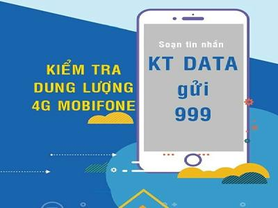 Cách kiểm tra dung lượng 4G Vinaphone nhanh và dễ dàng nhất