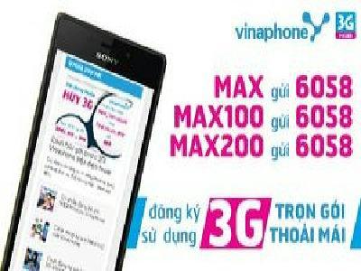 Cách đăng kí mạng 3G Vinaphone nhận ưu đãi khủng