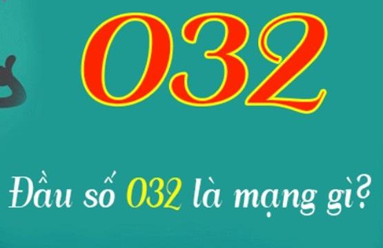 Đầu số 032 của nhà mạng Viettel