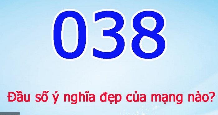 Đầu số 0386 của nhà mạng Viettel