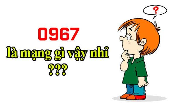 Đấu số 0967 của nhà mạng Viettel
