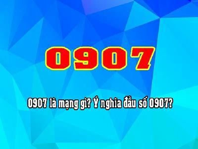 Đầu số 0907 là mạng gì? 0917, 0967 là đầu số mạng nào?