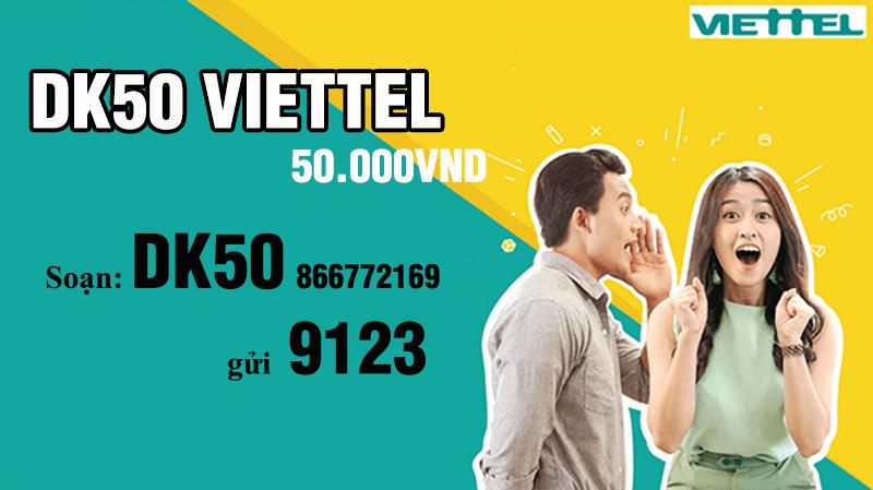 gói DK50 của Viettel